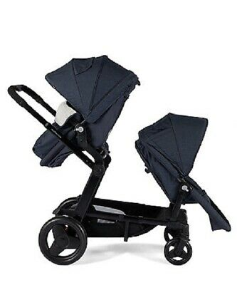 Mothercare Genie Pram Slate New In Box Last Chance To Buy Single Or Double