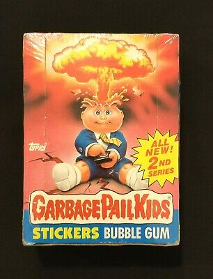 1985 Garbage Pail Kids Series 2 Full Box With 48 Unopened .25 Cent Packs Os2