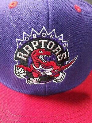 NBA Toronto Raptors oversized Logo Throwback Retro Cap Adidas Hardwood Classics