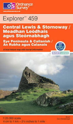 Explorer Maps: Central Lewis and Stornaway/Meadhan Leodhais Agus Steornabhagh