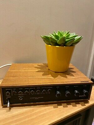 Retro Sony TA-70 Integrated Amplifier. Excellent Used Condition.