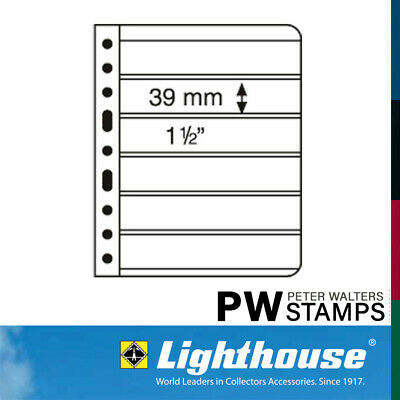 Lighthouse VARIO Sheets Pack of 5 Black Size 6S