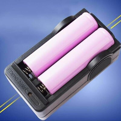 18650 3.7V 9800mAh Rechargeable Li-ion Battery Charger For Flashlight M3W4