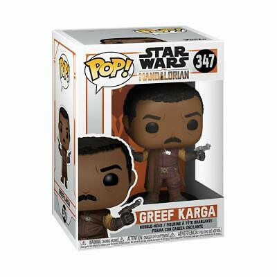 Pop! Star Wars The Mandalorian Greef Karga #347 Vinyl Figure Funko