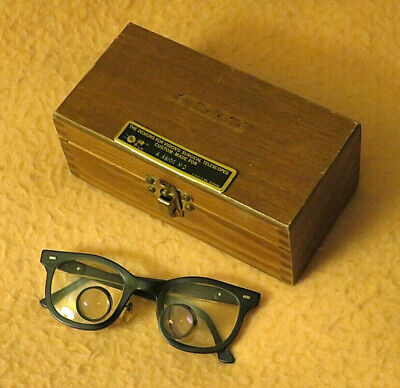 Designs for Vision's Surgical Telescope Loupe Vintage Glasses P-P Spacing ~56mm