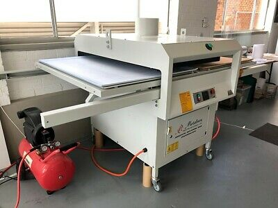 """33"""" x 42"""" Automatic Pneumatic Double-Working Table Heat Press. 380volts 3-Phase"""