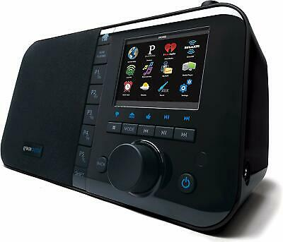 Grace Digital Mondo WiFi Wireless Internet Radio black GDI-IRC6000 - Black