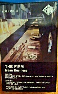 The Firm - Mean Business - Cassette