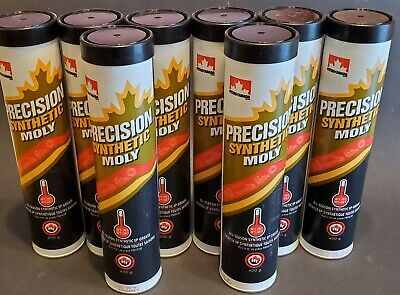 8 x 400g Petro-Canada Precision Synthetic Moly All-Season Synthetic EP Grease