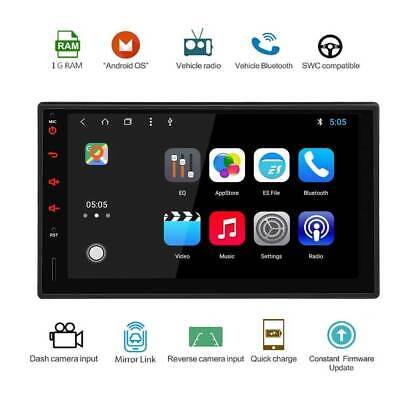 7 Zoll Doppel Din 2Din Android Touch Autoradio / Navi / USB / MP5 / Bluetooth