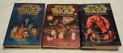 STAR WARS Complete Thrawn Trilogy Hardback Book Set All 1st Edition Heir Empire