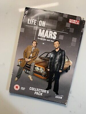 Life On Mars Complete Series 1 & 2 ( DVD ) Collectors Pack - 8 Disc Set Boxset