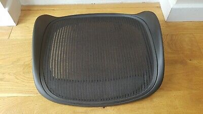 Herman Miller Aeron Chair Black Seat Mesh and Frame Size B