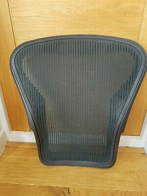 Herman Miller Aeron Chair Black Back Mesh - Size B