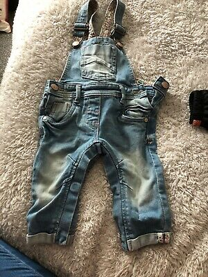 baby girls next dungarees Age 3-6 Months
