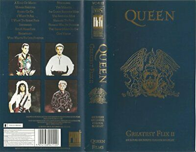 Queen: Greatest Flix 2 [VHS] [1991] - DVD  9GVG The Cheap Fast Free Post