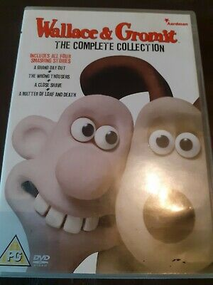Wallace And Gromit - The Complete Collection (DVD, 2009)