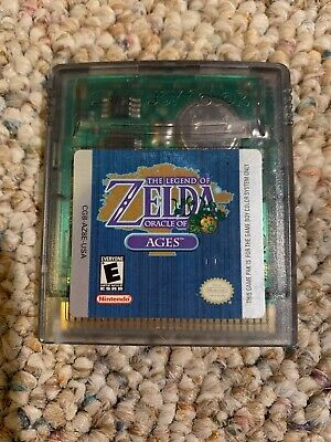 Legend of Zelda: Oracle of Ages (Nintendo Game Boy Color, 2001) Authentic Tested