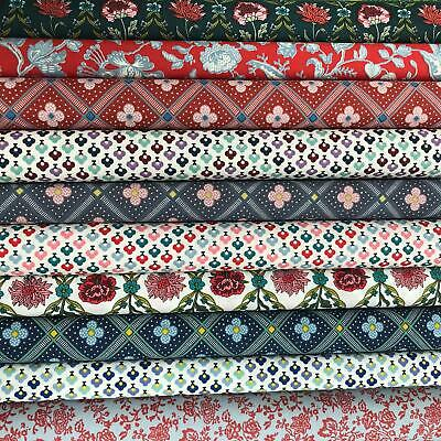Liberty of London Mixed Fabric Jelly Roll Strips 100% Cotton 10 Strips per pack