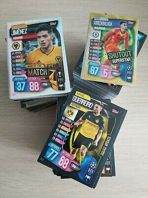 Match Attax EXTRA 2019/20 bundle of 10 NON-FOIL cards- You choose ALL AVAILABLE