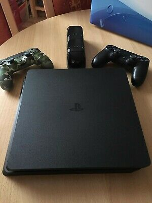 Sony PS4 Konsole 500GB +  2 Original Controller + vier Spiele - Playstation 4