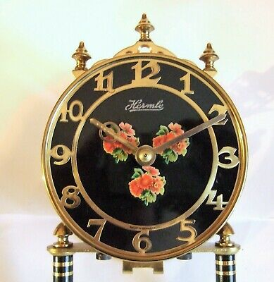 German  Fhs Hermle 400 Day Clock. Movement  With Pendulum