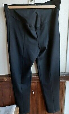 New Blooming Marvellous Black Maternity Trousers Size 20