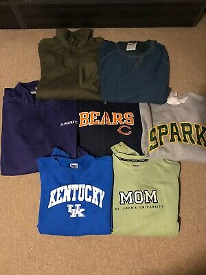 Wholesale Job Lot 25 X Vintage Mixed Brands And Unbranded Tops Mens Kids Womens