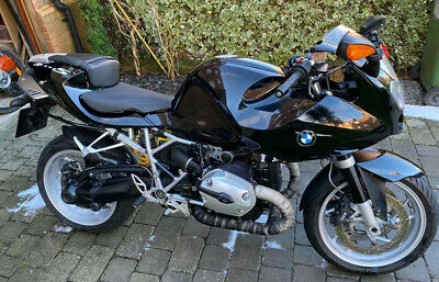 BMW R1200s with Sports Pack Rare classic boxer street sports bike