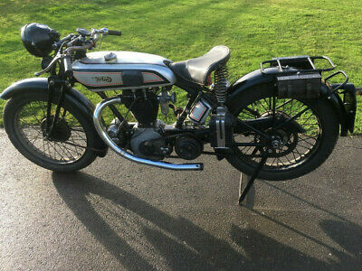 Norton Model 18 500cc OHV 1929 Great project Starts well Sound investment