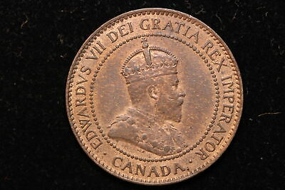 1907 H Canada. Edward VII. Large Cent.
