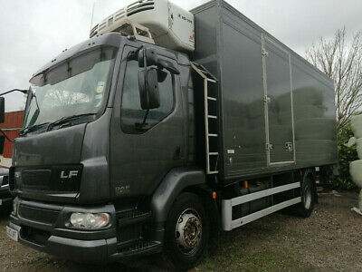 daf fridge truck with meat rails