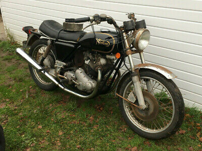 Norton Commando 750 Project 1972