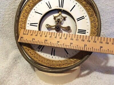 Large 19th Century French Clock Movement – Spares / Repair SM 11
