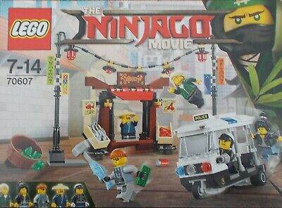 The Ninjago movie lego set 70607 Complete and in excellent condition.