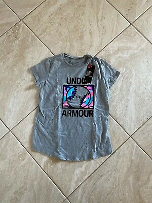 Under Armour-Girls SOFTBALL tee shirt-size youth large-nwt