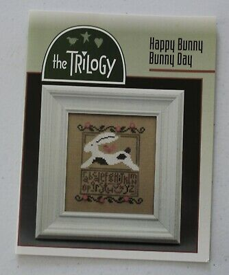 Happy Bunny Bunny Day - includes buttons - by The Trilogy