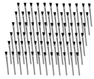 """Oatey 30712 24 Acid Brushes 6"""" w/ Horsehair Bristles for Solder Flux Contact Cem"""