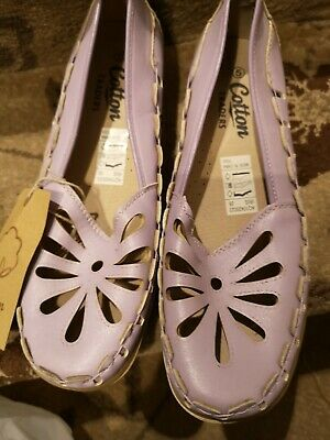 Cotton traders comfy ladies shoes size 5 NEW WITH TAGS