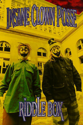 INSANE CLOWN POSSE - RIDDLE BOX POSTER - 24x36 - MUSIC 9284 *CREASED*