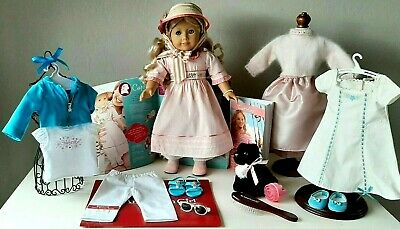 AMERICAN GIRL DOLL CAROLINE, Book, Cat INKPOT, 4 AG Outfits Amazing! Over 25 Pc.
