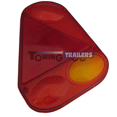 AB Tools-Maypole Trailer Light Lens Radex Replacement Left for Ifor Williams Indespension TR217