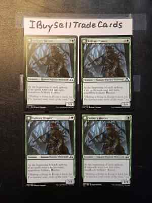 Shadows over Innistrad Common 4 x Solitary Hunter Near Mint