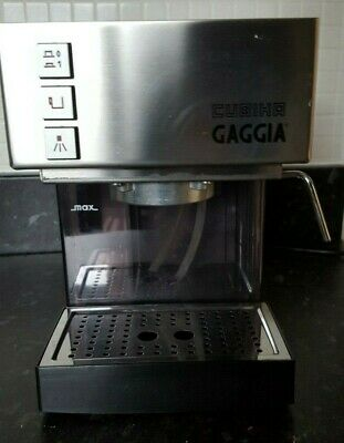 Gaggia CUBIKA Espresso Italian Coffee Machine Stainless Steel made in Italy