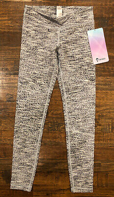 NWT ivivva by lululemon Girl's Rhythmic Tight Tights Pants Size 8 years yrs NEW