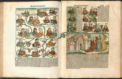 The Nuremberg Chronicle - 1493 AD - Reproduction