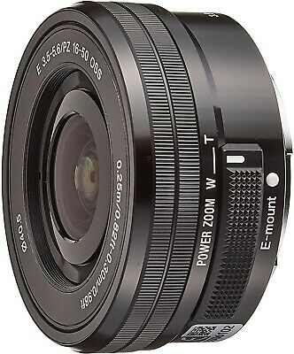 Sony E mount SELP1650 SEL 16-50mm f/3.5-5.6 PZ OSS Lens in excellent condition