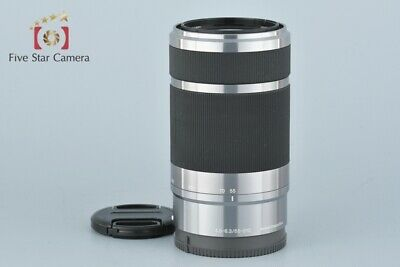 Excellent+++!! Sony E 55-210mm f/4.5-6.3 OSS SEL55210 Silver