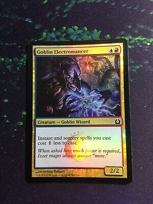 MTG 4x GOBLIN ELECTROMANCER Return to Ravnica *Soceries Instants billiger*