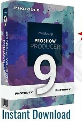 PHOTODEX PROSHOW PRODUCER 9 FULL VERSION  LIFETIME LICENCE🔑Instant Download 🔐